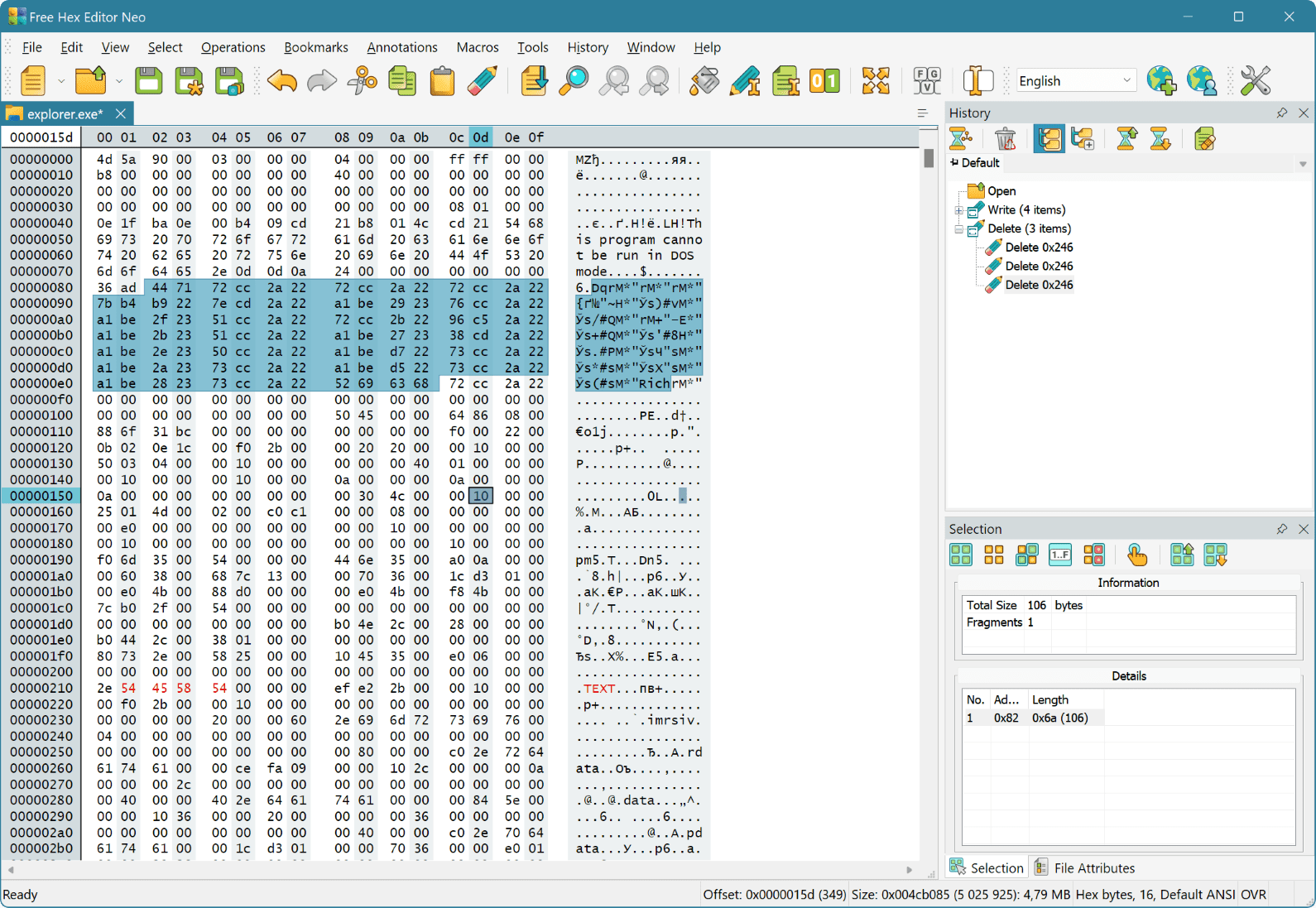 hex editor free download